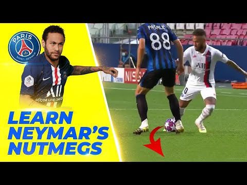 LEARN 3 NEYMAR'S NUTMEG! He will win the champions league with those moves ??