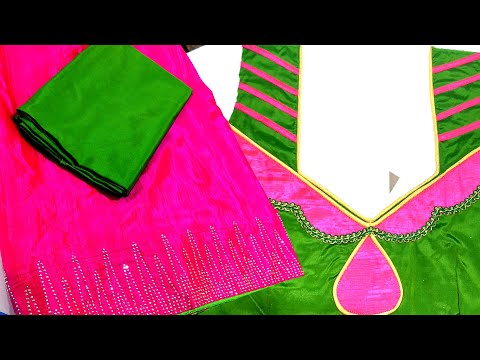 Beautiful Fancy Saree Blouse Design - Blouse Back Neck Design Stitching Class