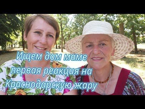 Ищем дом маме, первая реакция на Краснодарскую жару