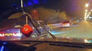 TOFAŞ VS BMW DRAG...tofaş bmw'ye nasıl saplar belgeseli..😎😎😎😎