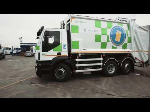 Nuevos camiones de recogida de residuos