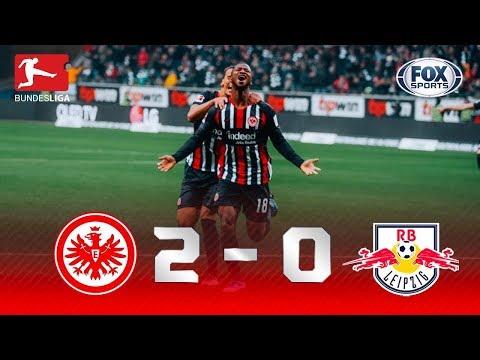 UMA SAPATADA DE RESPEITO! Veja os melhores momentos de Frankfurt x Leipzig