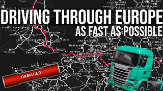 How Fast Can I Drive Across The Whole of Europe?