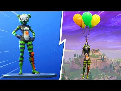 New SPOOKY TEAM LEADER SKIN in Fortnite! - New Fortnite Balloons Gameplay  Item Live! (New Update)
