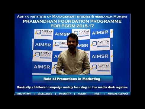 Aditya Institute of Management Studies & Research video cover3