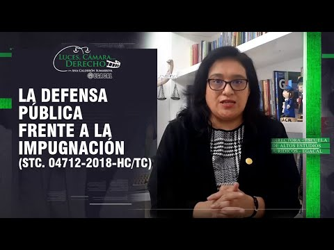 LA DEFENSA PÚBLICA FRENTE A LA IMPUGNACIÓN - LCD 193