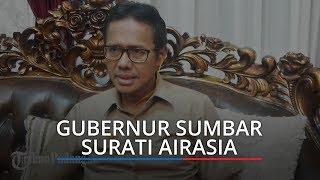 Cegah Corona, Gubernur Sumbar Surati AirAsia untuk Hentikan Penerbangan Kuala Lumpur-Padang