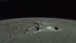 IMAGENS DA LUA (HD) - Sonda Espacial Kaguya do Japão