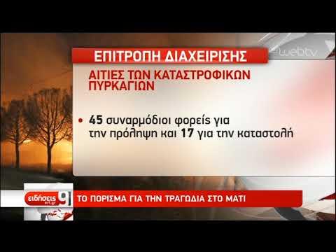 Το πόρισμα για τα αίτια των καταστροφικών πυρκαγιών   7/2/2019   ΕΡΤ
