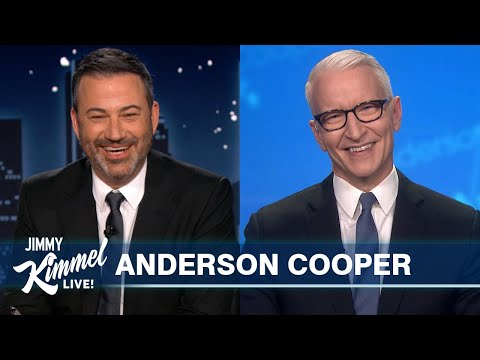 Anderson Cooper on Andy Cohen Almost Killing Him, His Son's 1st Birthday & Guest Hosting Jeopardy