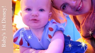 Disney with a BABY? Pearl's 1st Disney World Vlog | LOUISE PENTLAND by Sprinkle of Glitter