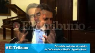 Entrevista Exclusiva Al Ministro De Defensa De La Nación Agustín Rossi