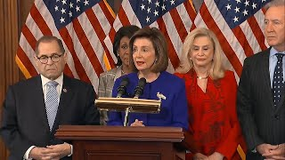 video: Democrats unveil two articles of impeachment against Donald Trump
