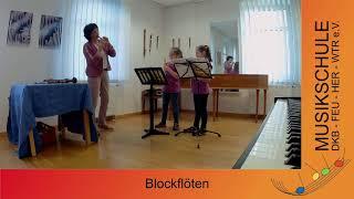 Musikschule Blockflöte