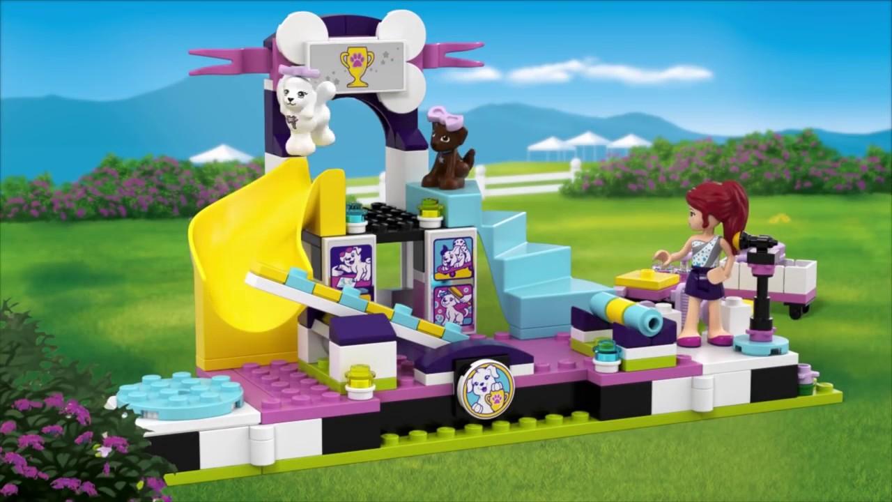 Lego friends выставка щенков чемпионат 41300