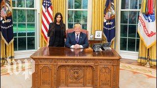 Kim Kardashian meets Trump