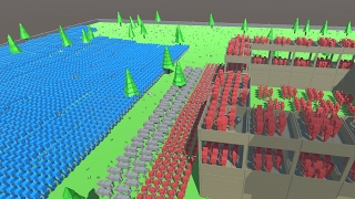 WOODEN FORTRESS UNDER ATTACK - Ancient Warfare 2
