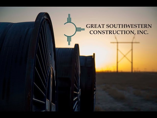 About Great Southwestern Construction, Inc. at Electricity Forum
