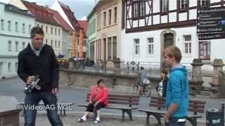 preview picture of video 'Wurzen - ein Imagefilm (Schwarzfahrer)'