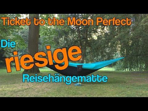 Ticket to the Moon: Riesige XXL-Reisehängematten Perfect und Mammock