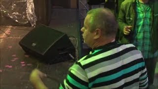 Drunk Kung Fu Russian Starts a Fight at Family Festival