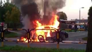 preview picture of video 'Wypadek Motor Auto 26.10.2014r. Knurów'