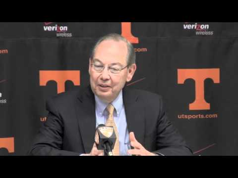 Tennessee Introduces Dave Hart as new Director of Athletics (Part 2)