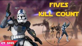 Star Wars Fives Kill Count