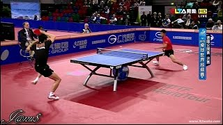 2015 German Open Ms-Final: MA Long - ZHANG Jike [HD 1080p] [Full Match|Short Form]