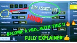 aim assist vs no aim assist pubg mobile in hindi - Kênh