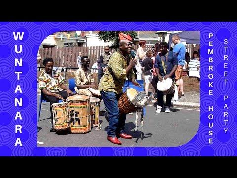 Wuntanara and Henri Gaobi - African drum solo (Ivory Coast)