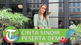 Cinta Laura Dapat Kritik Warganet setelah Sindir Peserta Demo di Twitter