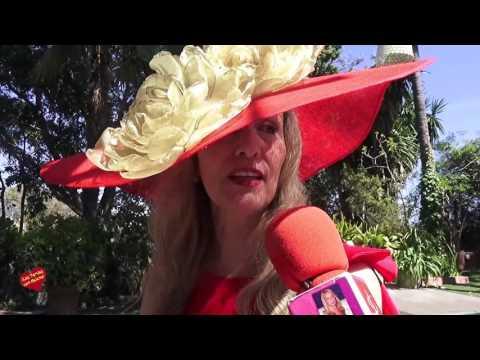 Fiesta  de los Sombreros y Pamelas de Kristina Szekely en el Restaurante La Meridiana del Alabardero