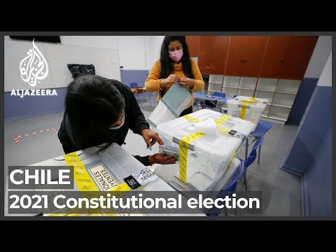 Chileans vote for 155-member assembly to draft new constitution