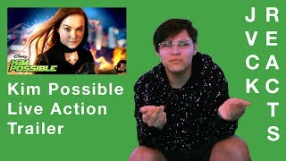 Jvck Reacts - Kim Possible Trailer