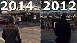 Watch Dogs - Grafikvergleich: Trailer von 2012 gegen finale PC-Grafik