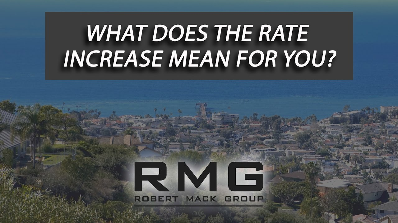What Does the Rate Increase Mean for You?