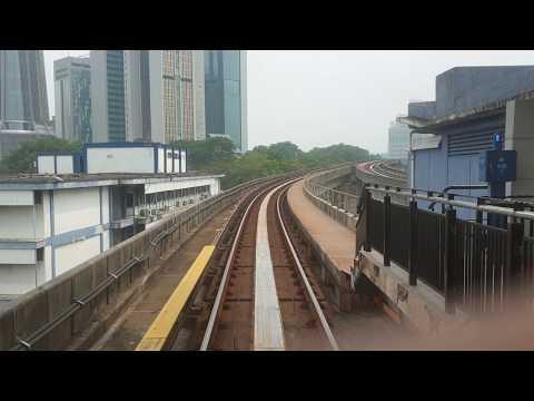 Masjid Jamek LRT station to KL Sentral Station POV