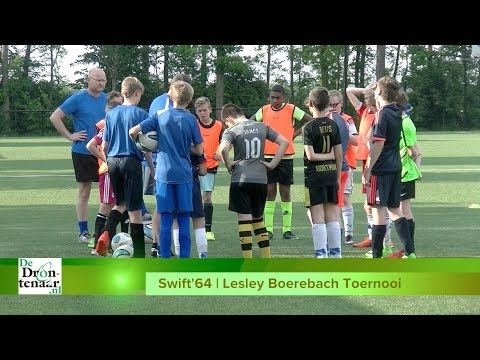 VIDEO | Abdurr, Beau, Luca en Owen van Swift'64 over Lesley Boerebachtoernooi