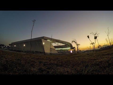 Arena Corinthians pronta para #CORxPAT