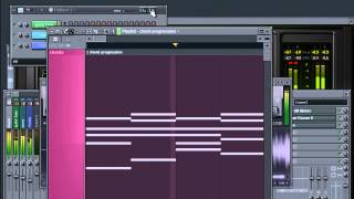 lemaitre - cut to black ( chord progression )
