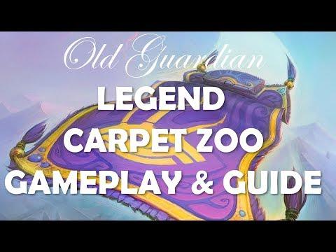 Legend Carpet Zoo Warlock deck guide (Hearthstone Rise of Shadows)