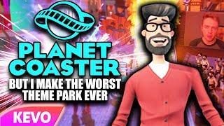 Planet Coaster but I make the worst theme park ever