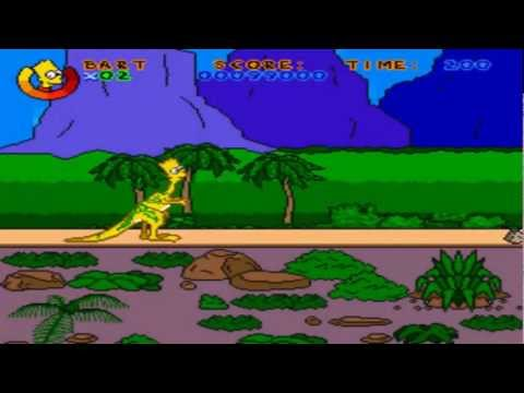 Virtual Bart Completed No Death Snes