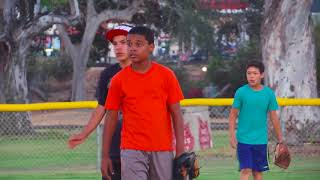 RBI Baseball at All Star Game in San Diego Playing Quickball