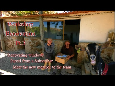 , title : 'Portugal Renovation - A pigsty into new workshop PT.3 - Windows A Subscriber Parcel and a New Friend