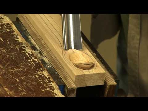 Making a spoon with a gouge and spokeshave   Paul Sellers