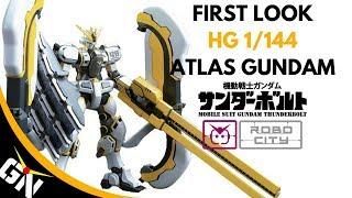First Look: HG 1/144 Atlas Gundam
