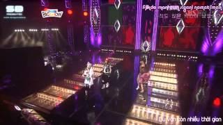 [Kara + Vietsub][091003] Let's go party - 2NE1 in Idol Big Show SBS
