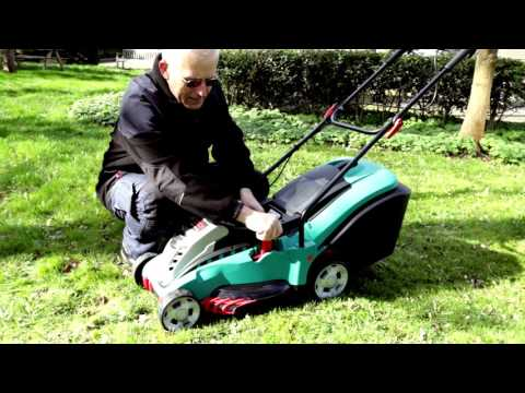 Bosch ROTAK 43 Li ErgoFlex Cordless Lawn Mower - FIRST LOOK